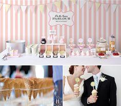 Ice Cream bar for the reception!