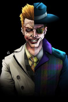 Jerome + Jeremiah Valeska are the Joker