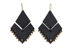 Kora Leather Earrings