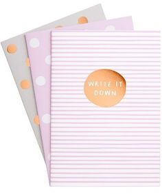 k Essential Notepads - Grey - Planner Supplies - Journal Supplies - Writing Supplies - Writing Quotes, Writing Tips, Kikki K, Rose Gold Foil, Write It Down, Lined Page, Writing Inspiration, A5, I Am Awesome