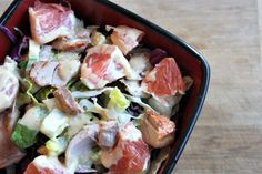 Fresh Asian Chicken Salad with Citrus #chickensalad