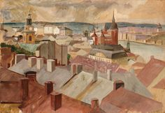 View from Mosebacke - Olof Ågren