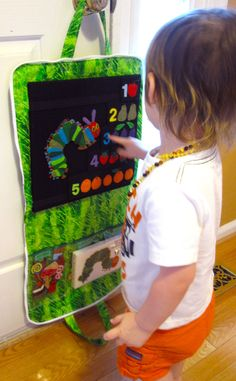 Very Hungry Caterpillar felt board set