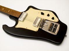 TONIKA (Sverdlovsk) Rarest vintage Soviet first mass electric guitar from USSR - mlkshk