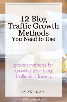 It can be tough growing your blog, so check out these proven methods for getting more traffic, pageviews and followers for your blog right now!