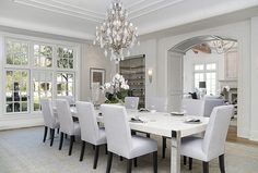 Wonderful Elegant Dining Room Design Ideas 43 image is part of 90 Wonderful Elegant Dining Room Design and Decorations Ideas gallery, you can read and see another amazing image 90 Wonderful Elegant Dining Room Design and Decorations Ideas on website Luxury Dining Room, Elegant Dining Room, Dining Room Design, Dining Rooms, Dining Area, White Dinning Table, Design Table, Kitchen Dinning, Patio Dining