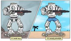 The seasons of Titanfall