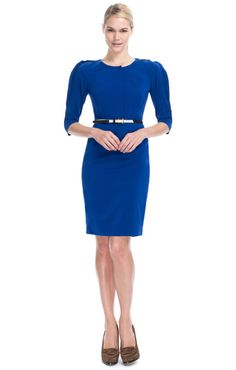 Fendi Ready-To-Wear  Electric Blue Cocktail Dress