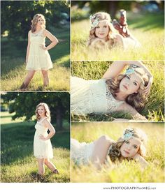 #senior #posing Hate the one where she has her arms all around her head though xD