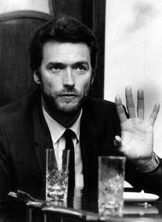Clint Eastwood. Looks a lot like Australian actor Hugh Jackman.