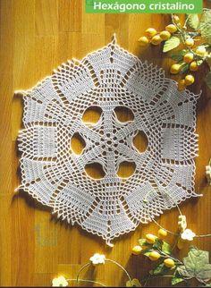 Hexagonal napkin