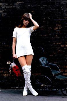 Jane Birkin by Tony Frank, 1960s