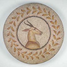 Scenes from Tree of Paradise - Jewish Roman Mosaics from Tunisia