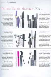 In Style US The Pros Favorite mascaras: If you have pale lashes look for longer lasting semi permanent mascara to give blond lashes definition and oomph. Semi Permanent Mascara, Tubing Mascara, Beauty Tips, Beauty Hacks, Blinc Mascara, Mirror Mirror, Blond, Lashes, Mascaras