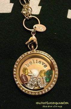 I believe in Baylor... Always!  Customize your locket to support BU at novaknecklaces.origamiowl.com.