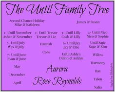 Until Series Until Her Series Until Him Series Mayson Family Tree books by Aurora Rose Reynolds