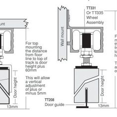 Sliding Doors Track System