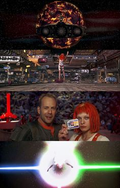 The Fifth Element, 1997 (dir. Luc Besson)