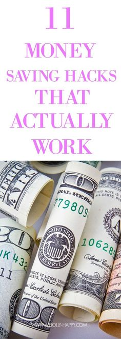 11 money saving hacks that actually work #budgeting
