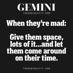 When Gemini Is Mad | TheZodiacCity.com