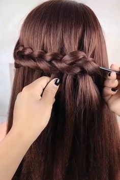 Super cute hairstyles are waiting for you! Be creative! Ash Brown Hair With Highlights, Brown Hair Balayage, Brown Hair Orange Highlights, Thick Highlights, Pixie Highlights, Honey Highlights, Summer Highlights, Bright Highlights, Peekaboo Highlights