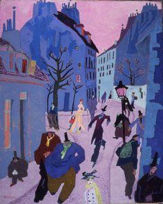 FEININGER5-In-a-Village-Near-Paris.jpg (1828×2300)