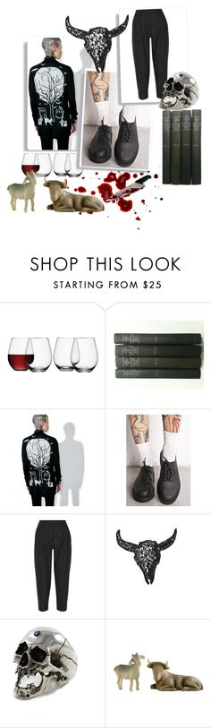 """""""Dark soul"""" by precious-ervin ❤ liked on Polyvore featuring LSA International, Too Fast, Melissa, DKNY and Willow Tree"""