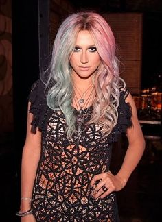 Kesha, I love her and how she decided that it was time for a change and changed her name and went to rehab and took time off.