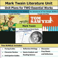 FREE Mark Twain Mini Unit Study {55 pages | Ultimate ...