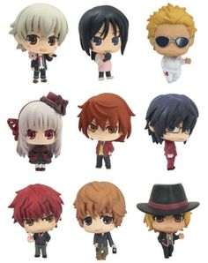 K Project Chara Colle Part 2  Usually if you buy from shops, you have to buy in random., now you get to select. It's a must have for fans of K.    Approximately 4 cm in height