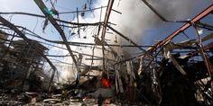 Yemen funeral air strike 'an apparent war crime': HRW - Business Insider