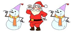 Animated Clip Art | Santa Claus animations, Father Christmas clip art and moving Saint ...
