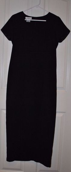 Womens AGB Dress Byer California Black Long Cocktail/Recital Dress Size 6 #AGB #CocktailRecital