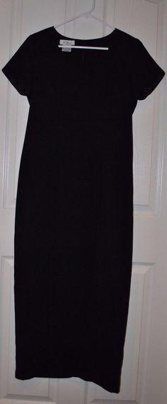 Womens AGB Dress Byer California Black Long Cocktail/Recital Dress Size 6 #AGB #CocktailRecital