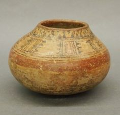 Native American terra cotta pot