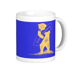 I Love You California--Blue and Gold Mugs