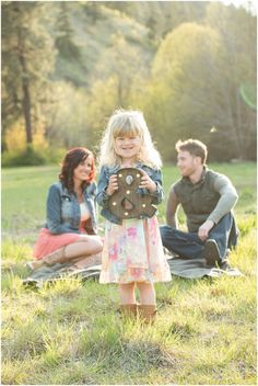 Engagement session with child