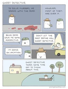 Poorly Drawn Lines • Ghost Detective