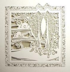 paper artist, 纸雕●○衍纸 (I think.)