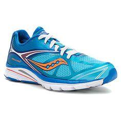 Blue and Orange. Saucony Kinvara 4 Blue/Orange #OnlineShoes #ShoeperBowl#shoeperbowl
