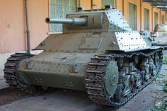 Somua S35 French Cavalry tank on display at the US Army Ordnance Museum