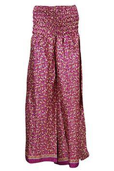 Women's Casual Palazzo Pink Vintage Silk Sari Boho Maxi S... https://www.amazon.com/dp/B01J5P0ST8/ref=cm_sw_r_pi_dp_9MsMxbDQ29MH0