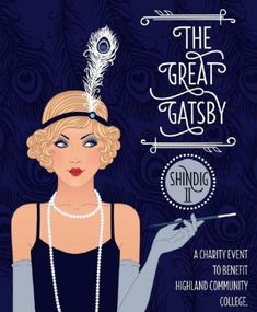 - Great Gatsby invitation idea