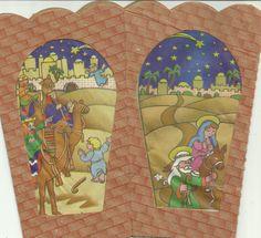 La Visita de los reyes y la Huída en un farol de papel