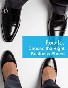 How to choose the right Business Shoes for the office. Shop our full collection of Business Shoes at ShoeBuy!