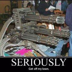 Seriously..., good zombie gun