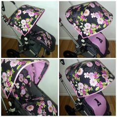 Bugaboo Cameleon Custom Hood and Liner set  by MiniMikiDesigns, $130.00