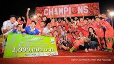 Udon Thani FC Crowned Champions