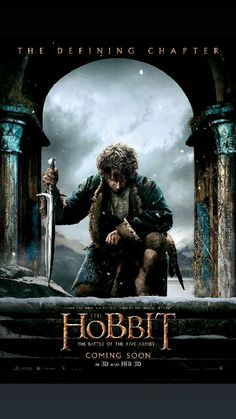 """From Academy Award (R)-winning filmmaker Peter Jackson comes """"The Hobbit: The Battle of the Five Armies,"""" the third in a trilogy of films adapting the enduringly popular masterpiece The Hobbit, by J.R.R. Tolkien. """"The Hobbit: The Battle of the Five Armies"""" brings to an epic conclusion the adventures of Bilbo Baggins, Thorin Oakenshield and the Company of Dwarves. Having reclaimed their homeland from the Dragon Smaug, the Company has unwittingly unleashed a deadly force into the world…"""