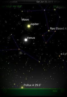 Vídeo novo canal. Saiba tudo sobre a bela conjunção entre a Lua, Vênus é Júpiter, como observar nesse final de semana e o que ainda vem pela frente. Não perca hoje as 19 mais um belo show no céu! !!  https://youtu.be/B8eJhess8QY